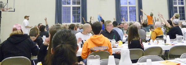 Zion Blue Mountain UCC's 12th annual Sportsman's Dinner.