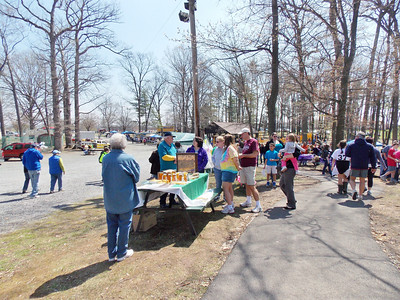 The scene at Boyertown's Earthfest in the park.