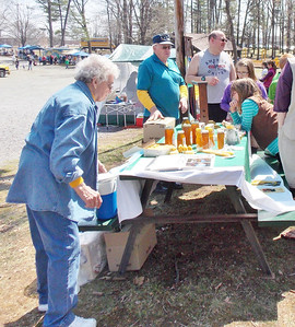 Taylor Bees at the Boyertown Community park celebrating Earth Day on Saturday, April 26.