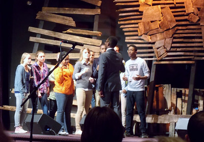 The Martin Luther King Jr. Service held at New Hanover United Methodist Church on Monday, Jan. 20, featuring the Pine Forge Choir along with the Boyertown Area Senior High School Show Choir.