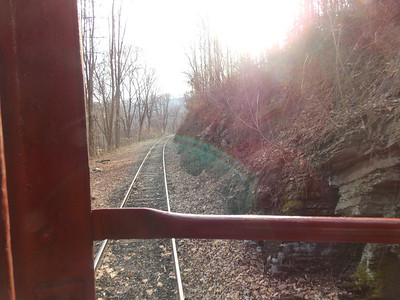 Many were invited to join the caboose ride from Pottstown to Boyertown to celebrate its arrival to Boyertown on Friday, Jan. 17.